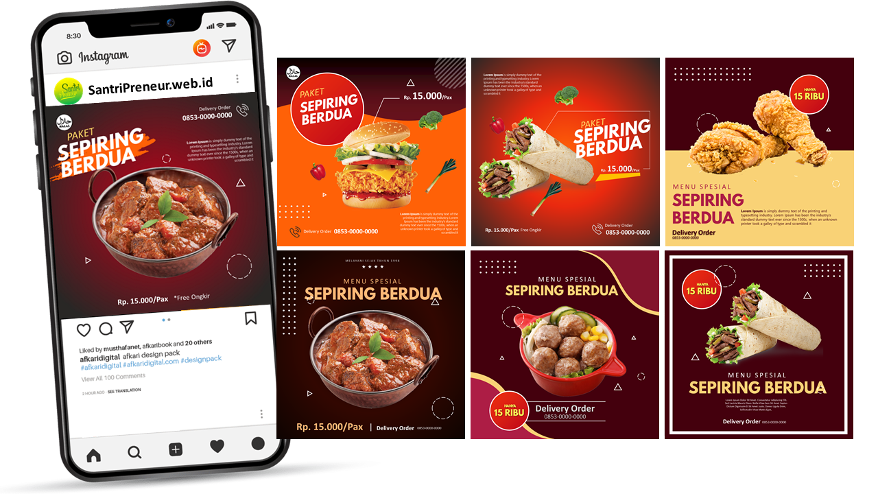 Magic Kuliner – Koleksi Template Desain Promosi Kekinian